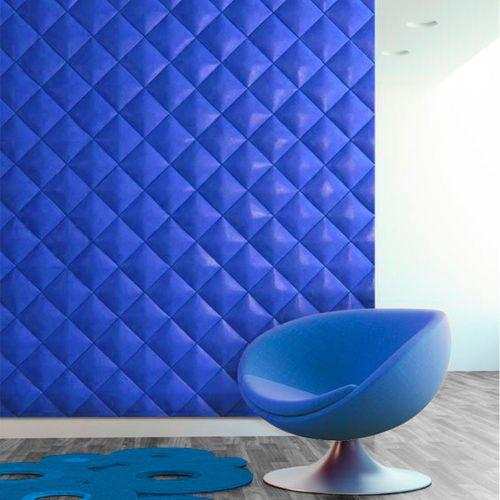 Мягкая стеновая панель -  3D формы